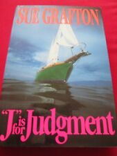 "SUE GRAFTON - ""J"" IS FOR JUDGEMENT - 1ST 1993 HB BOOK"