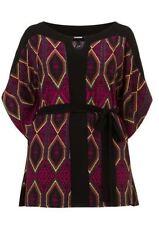 Kimono  Gr.58/60 Tunika Hängerchen Longtop Longtunika Schulterfrei Poncho
