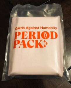 Cards Against Humanity - Period Pack - Expansion Set New Great Stocking Stuffer