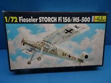 1/72  HELLER (1995):   Fieseler Storch Fi-156 / MS-500 (2 Decal Optionen )
