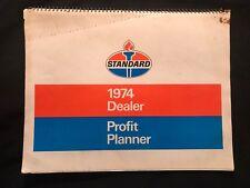 Standard Oil Vintage 1974 Dealer Profit Planner