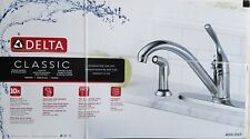 Delta Classic Single Handle Kitchen Faucet with Spray Model:400-DST