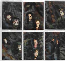 Tradingcards - The X-Files Sondercard Set Season 1 - Etched Foil Set von 1995