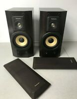 Technics Hi Fi Main Speakers SB- HDV600  Tested Working