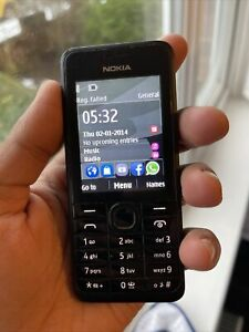 Nokia Asha 301 - Black (Unlocked) Mobile Phone - Retro - Senior - Kids