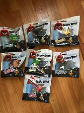 LOT of (7) NEW: Angry Birds Collectible Figures Spin Master NEW
