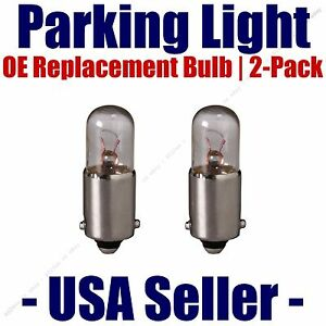 Parking Light Bulb 2-pack OE Replacement Fits Listed Mercedes-Benz Vehicles 3893