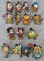 Cute Stylized Characters Mystery 2016 Pack Set Choose a Disney Trading Pin