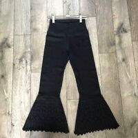 NEW Free People Movement High-Rise Flare Pants Leggings in Black XS/S $97.12