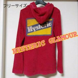 Hysteric Glamour Parka Pink Women's Tops A3198