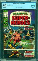 Marvel Super-heroes #22 CBCS VF/NM 9.0 Off White to White Comics