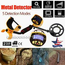 Md-3010Ii Metal Detector Gold Digger Deep Sensitive Light Hunter Lcd Display New