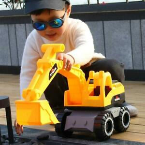 Engineering Construction Truck Excavator Digger Vehicle Car Toy Kids Gift