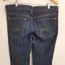 Aritzia 7 FOR ALL MANKIND Boot Cut Jeans New York Dark, Sz 31/32