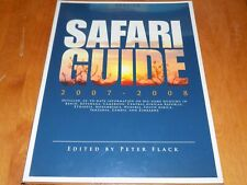 SAFARI GUIDE African Hunting Africa Hunter Guns Big Game Africa Hunt Book NEW