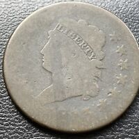 1813 Large Cent Classic Head One Cent 1c circulated  #28976