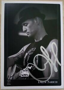 Drew Sarich MUSICAL Autogramm original signiert 15x10cm