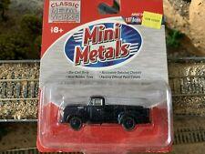 Ho Scale 1:87 Cmw Mini Metals '54 1954 Ford F350 Pickup Sheridan Blue #30202 New