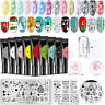 BORN PRETTY 8ml Nail Stamping Gel Polish Pure Tips Soak Off UV LED Gel