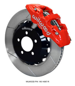 Challenger Charger 300 Front Big Brake Kit Calipers Slotted Rotors Pads Wilwood