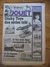 LA VIE DU JOUET N°30 1998 DINKY SERIE TELE ROBOTS CHEVAUX A BASCULE TRAINS HO