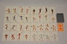 Hau Ruck Quartett Kartenspiel Karten Spiel Vintage Olympia Sport Rare Quartet
