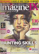 IMAGINE FX MAGAZINE FOR DIGITAL ARTISTS #102 DEC 2013,PAINTING SKILLS Jean-Sebas