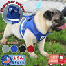 Small Dog mesh Vest harness Collar with Leash soft chest strap adjustable XXS-L