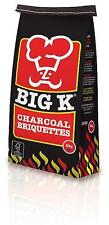 Big K Charcoal Briquettes 5 Kg Outdoor Camping Grilling Cooking Travel