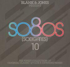 "BLANK & JONES - SO80S 10 2016 3CD 32 x 12"" Mixes PSB,SADE,SHAKATAK,B-52s,ROXETTE"