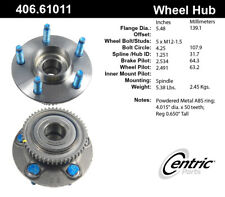 Wheel Bearing and Hub Assembly-C-TEK Hubs Rear Centric fits 98-03 Ford Windstar