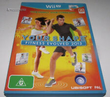 Your Shape Fitness Evolved 2013 Nintendo Wii U PAL *Complete*