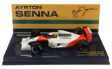 Minichamps McLaren Honda MP4/6 #1 1991 World Champion - Ayrton Senna 1/43 Scale
