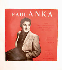 Vinyle 45T Paul Anka - Diana. Don't Gamble with Love. Tell me that you Love me..