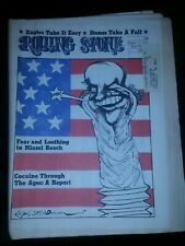 Rolling Stone Magazine George McGovern Issue 115, 8/17/72 Like New Condition