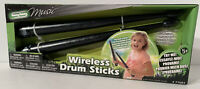 """SS MUSIC Wireless Drum Sticks """"Play Music In The Air"""" Light Up - Brand New"""
