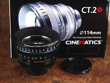 Cinematics CT.2 Gear Housing WITH Zeiss ZE 85mm f/1.4 T* EF Mount Lens