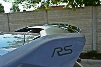 Dachspoiler Ansatz Heckspoiler Schwarz Ford Focus MK3 RS Spoiler Dach Aufsatz