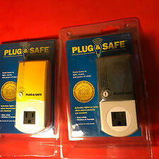Plug & Safe wireless sensor- come home to light sound and peace of mind