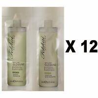 12 X Fekkai Advanced Brilliant Glossing Shampoo 0.3 Oz & Conditioner 0.3 Oz