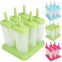 Frozen Ice Cream Mould Popsicle Maker Mould Tray Pan Kitchen DIY Pop Mold