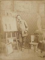 Anonym - Im Künstleratelier - Vintage Fotografie - um 1850/60