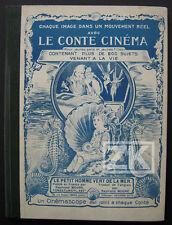 CINEMASCOPE 3-D RELIEF Cinema Conte Méliès Hippocampe Mer Brown Sirène Fée 1926