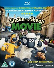 Shaun The Sheep - The Movie [Blu-ray] [2015] [DVD][Region 2]