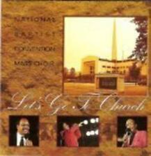 NEW Let's Go To Church by National Baptist Convention Mass Choir MUSIC CD
