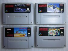 Lote Juegos Super Nintendo Looney Tunes Super Mario All Stars Winter Gold