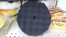 """8"""" Foam Black polishing  Pads 2 pack Hook and Loop backing Compare to 3M #5723"""