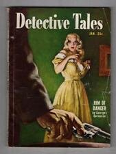 "Detective Tales Jan 1951 Cornell Woolrich ""Dark Flight"""