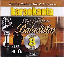 Roberto Carlos,Miguel Gallardo,Luis Angel,Cristian Castro,Kalimba KARAOKE 8CDNEW