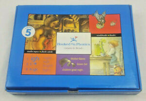 Hooked on Phonics Learn to Read Level 5 Homeschool Cassettes Books Flashcards